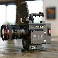 Red  Canon setup  What would you shoot with this?   Photo by @richtalkstech