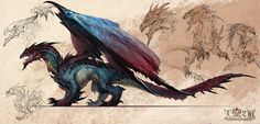 dragon, love his colors and how on the tips of his wings it looks like the pool water reflection,