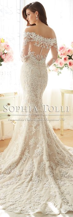 The Sophia Tolli Spring 2016 Wedding Dress Collection - Dream Wedding ❤