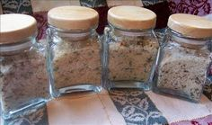 Master Mixes for Four different Rice Seasoning Mixes (Jar Meals)