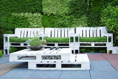 Wooden pallet garden projects garden furniture from wooden pallets
