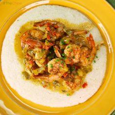 Mario Batali's Shrimp and Grits! #TheChew #ShrimpAndGrits #Soulfood