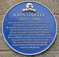 John Hartle's Plaque - Photo by David Humphries