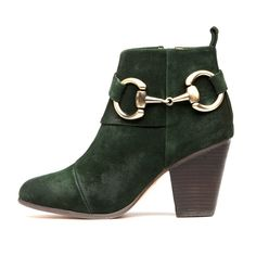 Jeffrey Campbell 'City Slicker', green suede