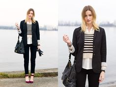 Stripes for Work (by Alison Hutchinson) http://lookbook.nu/look/4503079-Stripes-for-Work