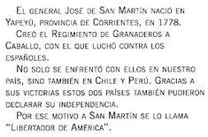 Mis Pasitos por Primero ...: Paso a la Inmortalidad del Gral. José de San Martín Math Equations, Socialism, Saints, Tinkerbell, Equivalent Fractions, August 17, Writing Activities