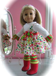 Hey, I found this really awesome Etsy listing at http://www.etsy.com/listing/166829932/american-girl-doll-clothes-made-to-fit