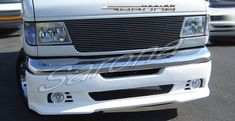 Custom Ford Econoline Van Front Add-on Lip - Sarona Custom Body Kits, Conversion Van, Ford, Lips, Style, Stylus