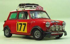 Morris Mini Cooper 1275S 1967 Monte Carlo Rally