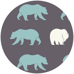 Bears are scary, but I still like this fabric. (Camp Modern by Jay-Cyn Designs for Birch Organic Fabrics)