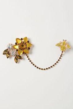 Bumble Blossoms Cardi Clip
