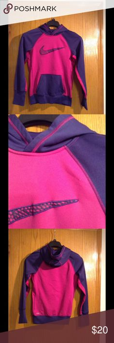 Nike Hoodie Good condition. Small stain on front but doesn't show much. (CC) Nike Tops Sweatshirts & Hoodies