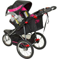 The Baby Trend Expedition Jogger Stroller is easier for you and more comfortable for your baby. Equipped with an adjustable, reclining padded seat and all-terrain tiers, this lightweight jogging stroller allows you to go anywhere you need with superior comfort for your child. | eBay!
