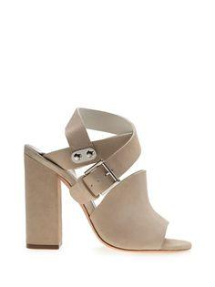 ALEXANDER MCQUEEN - suede sandal   Cynthia Reccord