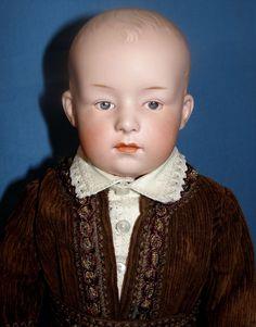 "Antique 16"" Heubach Pouty Character Doll #7603 - Fabulous!"