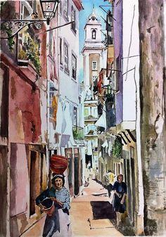 Alma Portuguesa, One Sunny Day in Alfama by Jo-anne Corteza