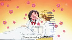 grafika funny, gif, and kaichou wa maid sama