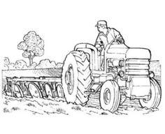 traktor (9) | bilder für türschilder | kleiner roter