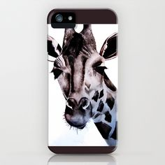 Giraffe iPhone & iPod Case by Natalie Murray - $35.00