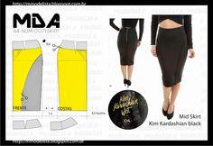 sábado, 16 de maio de 2015 A4 NUM 0071 SKIRT Kim Kardashian para C&A - Inspiradas no estilo sexy da it-girl, as peças vêm cheias de recortes, shapes justos à silhueta e muitas transparências. O bacana é que o corpo da Kim Kardashian é um corpo tipicamente brasileiro – quadril largo e cintura fininha – e por isso as peças devem agradar muito a mulherada que gosta de valorizar suas curvas e evidenciar ainda mais a sua sensualidade e beleza. http://viroutendencia.com/