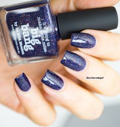 [Herby] Blue Friday mit Picture Polish - Big Bang | Reviernägel