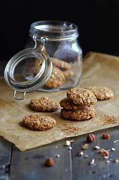 Fit oatmeal cookies (sugar and fat) Matcha, Healthy Sweets, Healthy Recipes, Vegan Cake, Oatmeal Cookies, Diy Food, Sweet Recipes, Food Photography, Clean Eating