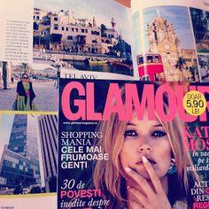 I'm in Glamour Magazine! #styletraveler #glam ##glamourmagazine #glamourromania #revista #revistaglamour #picoftheday #pictureoftheday #madalinadragoi #katemoss #telaviv #mumbai #india #capri...
