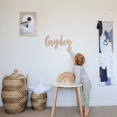 If it's all in a name, I think little Cayden is happy boy 😊 . I love how the Ooh Noo Half Moon Table sits perfectly in this space 💛 . Half Moon Table, Happy Boy, Space, My Love, Boys, Furniture, Instagram, Design, Home Decor