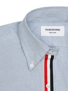 CLASSIC OXFORD SHIRT WITH GROSGRAIN PLACKET | Thom Browne
