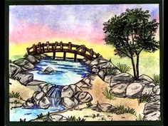 WATER FALL U get photo #2 Retired . Sells for 10.59. I have the other items in the examples in my shop you can purchase these from my store Pat's Rubber Stamps & Scrapbook supplies. ART IMPRESSIONS RUBBER STAMPS Sold separately are items used in this project We take PayPal. FREE SHIPPING only by: PHONE or email orders:423-357-4334 patbubstilwell@gmail.com on ORDERS of $30.00 or more. I have a large selection of retired stamps