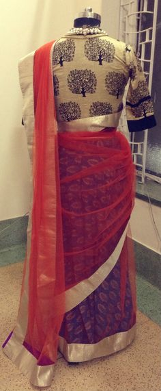 How are you dressing up for the Diwali party? This gorgeous orange and gold sari with a printed petticoat could be an option? For purchase enquires drop me a message. You can what's app me on 00447840384707 or email ayushk@hotmail.co.uk Ayush Kejriwal offers traditional Indian clothes mixed with creativity and a little bit of eccentricity. Sarees, Anarkalis and Lenghas. We ship Worldwide. Find us on Facebook https://www.facebook.com/Ayushkejriwalbyayush
