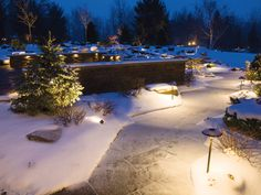 Kichler landscape winter path lights onesourcelighting kichler landscape lighting aloadofball Choice Image