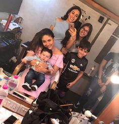 Taimur Ali Khan makes a debut on mommy Kareena Kapoor Khan's set – view pic #FansnStars