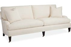 Front living room: Lee Industries: 1573-32 Two Cushion Sofa - like the shape, but might be too deep