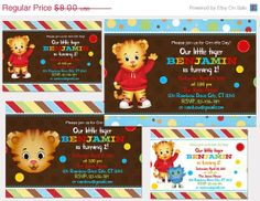 ON SALE 25 OFF Digital Daniel Tiger's Neighborhood  by Samair, $6.00