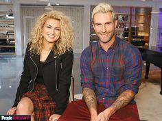 Tori Kelly and Adam Levine Season 10 of The Voice Tori Kelly, Beautiful Female Celebrities, Adam Levine, Maroon 5, Pharrell Williams, Shakira, Her Hair, The Voice, Curly Hair Styles
