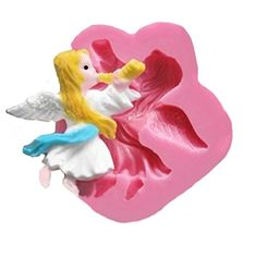 SHINA New Arrival Fondant Silicone Sugar The Angel Shaped Cake Craft Mold For Your Baby *** You can get additional details at the image link.