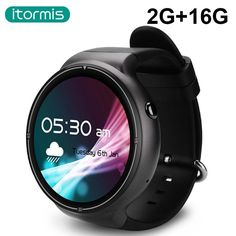 itormis Bluetooth Android Smart Watch Smartwatch Quad-core Ram2G Rom16G 3G GPS Wifi Heart rate PK KW88 for Android IOS W04 Pro