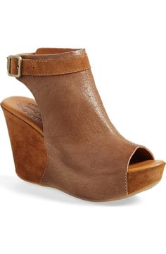 Free shipping and returns on Kork-Ease® 'Berit' Wedge Sandal (Women) at Nordstrom.com. Vegetable-tanned Italian leather lends an earthy vibe to a versatile sandal balanced by a comfy wedge heel.