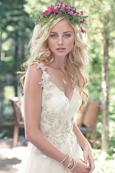 Wedding Dress: Maggie Sottero - www.maggiesottero.com   Read More on SMP: http://stylemepretty.com/vault/gallery/undefined