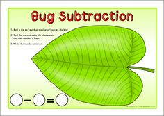 Bug subtraction mats (SB7047) - SparkleBox