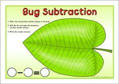 Bug subtraction mats (SB7047) - SparkleBox