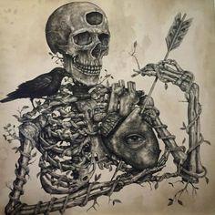 Le street art fantasmagorique inspiré des gravures d'anciennes encyclopédies par Alexis Diaz | Buzzly