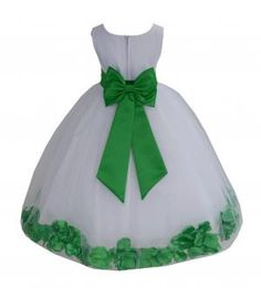 302a White / Lime - White Dresses - A/Tiebows - Style 302