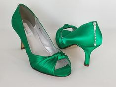 396739aa4e8 14 Best Green Shoes images in 2016 | Green shoes, Shoes, Wedding shoes