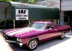 1972 Chevrolet El Camino SS.