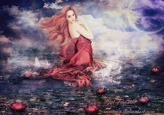 Girl of the lake by irinama.deviantart.com on @deviantART