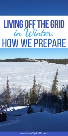 Living off the grid in winter in a cold climate requires some prepping. Here are 11 ways we get our off grid home ready for winter. Off Grid Survival, Survival Shelter, Survival Prepping, Survival Skills, Emergency Preparedness, Survival Gear, Survival Hacks, Survival Stuff, Urban Survival