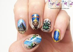 BASE COAT TOP COAT - PHAROAH-EST OF THEM ALL - Daily/Weekly Challenge -...
