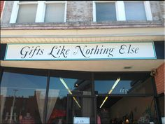 I love Gifts Like Nothing Else, LLC, such a great selection! Located at 112 E. Kivett Dr. #HPMKT